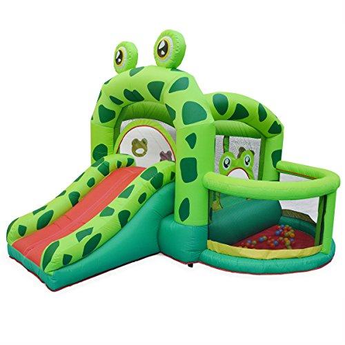 Alice's Garden - Structure gonflable - Kermit - toboggan gonflable, piscine à...
