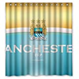 Simply manchester_united_club_football_city_england Custom Shower Curtain 66(W)X72(H) NHY-85 by Custom Shower Curtains