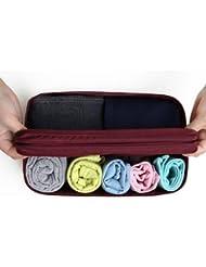 Shopaholic Travel Toiletry Bag Underwear Divided Pouch Makeup Organizer Waterproof Bra Sorting Bag Brand Beautician...