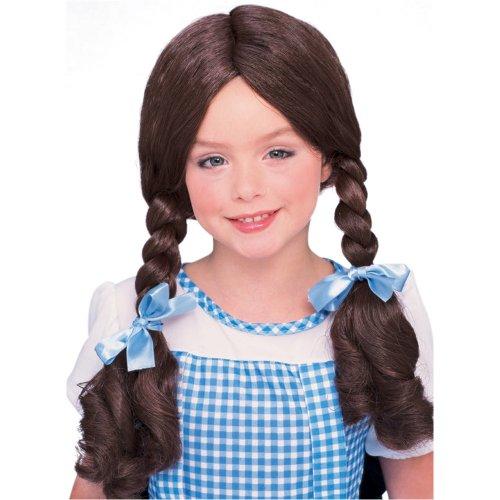 Wizard of Oz Dorothy Halloween Costume Wig