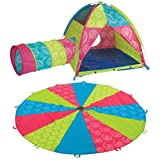 Sugar and Spice 10' Parachute Tent and Tunnel Set