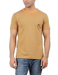 DK Clues Men's Round Neck Cotton T-Shirt - B00XN6RDHQ