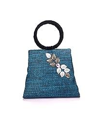 Arisha Kreation Co Women Hand Bag (Blue)
