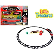 Exclusive Sleek Electric Train Set Complete With Carriages And Tracks Great Train And Tracks Toy Gift Set