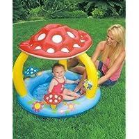 """Intex Mushroom Baby Pool 40"""" X 35"""" (Or 1.02m X 89cm) For Age 1 3"""