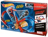 Hot Wheels Marvel The Amazing Spider-Man 2 Speed Circuit Showdown Track Set