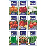 SUPER HYBRID COMBO OF ONION/3TYPES, TOMATO/3TYPES AND PEPPER 3TYPES (AVG 40/50+ SEEDS EACH) BRAND Omaxe Sold By...