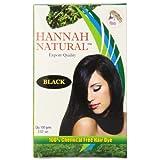 Hannah Natural 100% Chemical Free Hair Dye Black 100 Gram