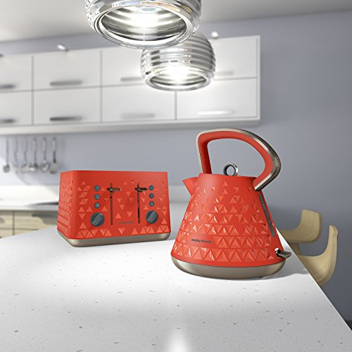 orange kitchen accessories morphy richards 108106 prism kettle orange 1214
