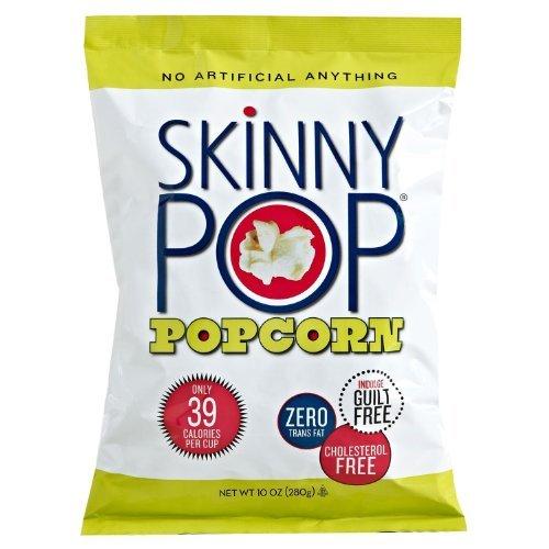 Skinny Pop Popcorn, Family Size 10 Oz. Large Bag; The Big Skinny