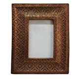 Handmade Picture Frame Vintage Style Home Decor Antique Photo Frame Table Top Decorative Metal Material Picture...