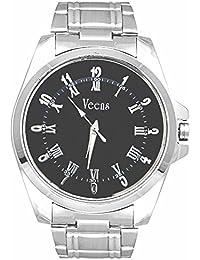 Veens Scratch Resistant Casual Black Dial Mens Wrist Watch DW1011