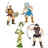 True Legends Heroes of Olympus 4 inch Action Figure 4-Pack - Zeus