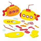 3D Foam Submarine Kits For Children To Make And Display (Pack Of 2)