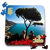 Danita Delimont - Italy - Italy, Amalfi Coast, Ravello, Villa Rufolo - EU16 TEG0517 - Terry Eggers - 10x10 Inch Puzzle (pzl_138326_2)