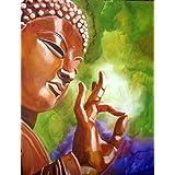 Tallenge - Buddha Art - A3 Size Rolled Poster