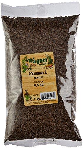 Wagner Gewürze Kümmel ganz, 1er Pack (1 x 500 g)