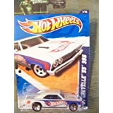 Hot Wheels 2012 10/10 Muscle Mania Gm 67 Chevelle Ss 396 110/247 (Red)