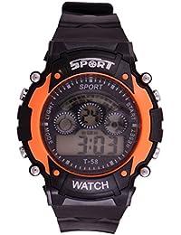 Boy's Watches (Rjcreation Digital Black Dial Boy's Watch)
