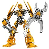 Lego Bionicle 8989 Glatorian Legends Series 8 Inch Tall Figure Mata Nui With Scarab Shield And Spiked Thornax...