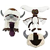 Set of 3 Momo And The Last Airbender Resource 20 Inch Appa Avatar Soft Stuffed Plush Doll Toy Hat Handmade