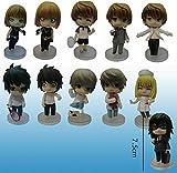 Death Note L Yagami Raito Mello 11pcs/set PVC Action Figure Toys Doll Kids Gift