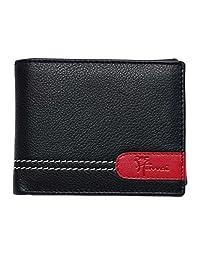 Hawai Black & Red Detailing Wallet