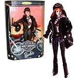 Mattel Year 1998 Barbie Harley-Davidson Motorcycle Series 12 Inch Doll Set - Red Hair Barbie (20441)