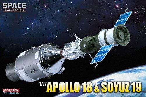 Dragon Models 1/72 Apollo 18 and Soyuz 19, ASTP (Apollo-Soyuz Test Project)