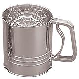 Fox Run Four Cup Stainless Steel Flour Sifter