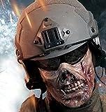 JapaNice サバゲー 装備 フェイスマスク フェイスガード ゾンビ 風 顔マスク サバゲ で 威嚇 する タイプ sb-m900