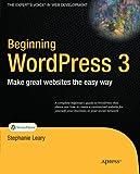 Beginning WordPress 3 (Expert's Voice in Web Development)