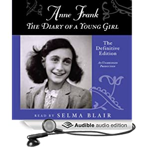 of audio frank the diary book anne