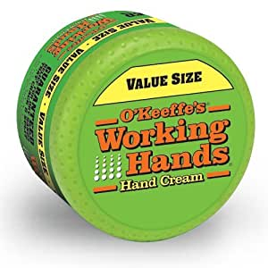 working hands cream o keeffe s working value size 10710