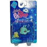 Littlest Pet Shop Fanciest Single Figure Green Fish