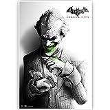 Batman Joker Black And White Poster