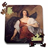 BLN Paintings of Kings, Queens and Royalty - Mrs. Endymion Porter, c. 1640 by Anthony Van Dyck - 10x10 Inch Puzzle (pzl_170051_2)