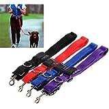 Alcoa Prime Hot Pet Dog Nylon Adjustable Training Lead Dog Leash Dog Strap Rope Traction Dog Harness Collar Leash
