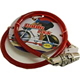 Gol Bicycle Cable Lock - Red