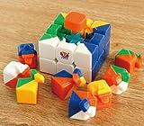 MoYu New!! Smooth 3x3 Stickerless YJ Moyu Yulong 3 x 3 x 3 Speed Cube Puzzle