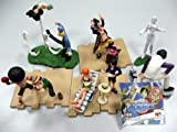 One Piece: Characters Trading Figure Set of 10 + Pin