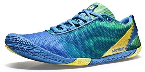 TF-BK30-BG_300 12 D(M) Tesla Men's Trail Running Minimalist Barefoot Shoe Athletic comfortable sports skin shoes