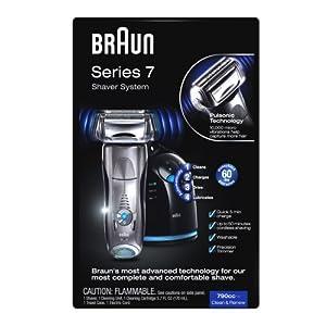 Braun Series 7 790cc Pulsonic Shaver System, Silver