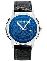 Time Expert Analogue Blue Dial Men's Watch - TE100209