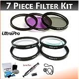 82mm Digital PREMIUM Filter Kit (UV, CPL, FLD) & Close-Up Macro Filter Set (+1 +2 +4 +10) For Digital Cameras....