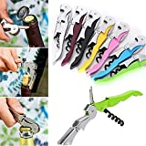 Generic 1 Pc Red Wine Opener Stainless Steel Wine Bottle Cap Opener Corkscrew Metal Champagne Grape Wine Bottle...