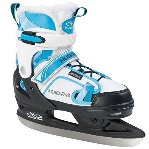 HUDORA Schlittschuhe rGO Gr. 29-40 blau Wintersport Eislaufen Eishockey Eis