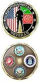 Afghanistan Veteran Challenge Coin