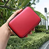 Leegoal TM Portable Hard Disk Drive Shockproof Case For Seagate WD Toshiba 3.5 Inch HDD Carrying Bag Pouch Pink... - B01IN3UP00