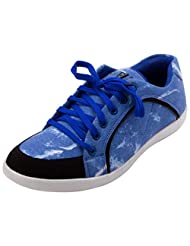 FBT Men's 10380 Blue Casual Shoes